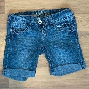 Size 1 Wallflower Denim Shorts